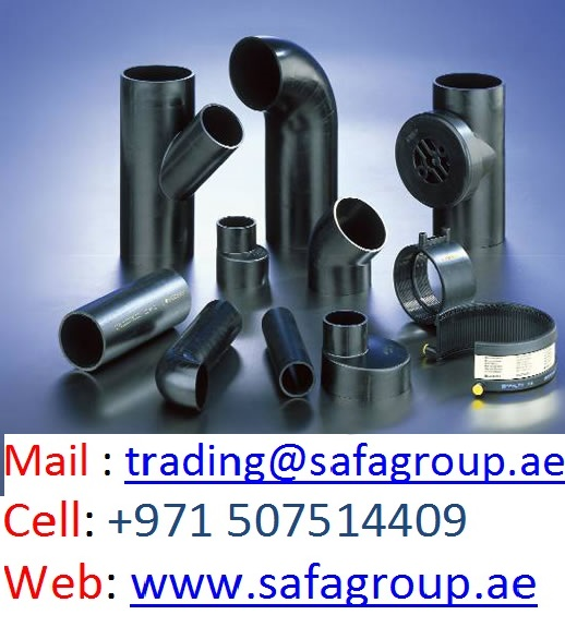 HDPE PE PIPES & FITTINGS ( UAE MAKE - FOR EXPORT ONLY)