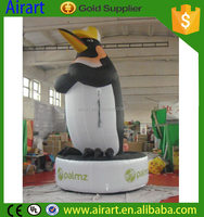 giant animal model inflatable helium penguin