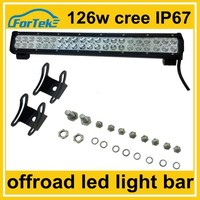 22 inch 126W 4x4 led cree bar lights distributor