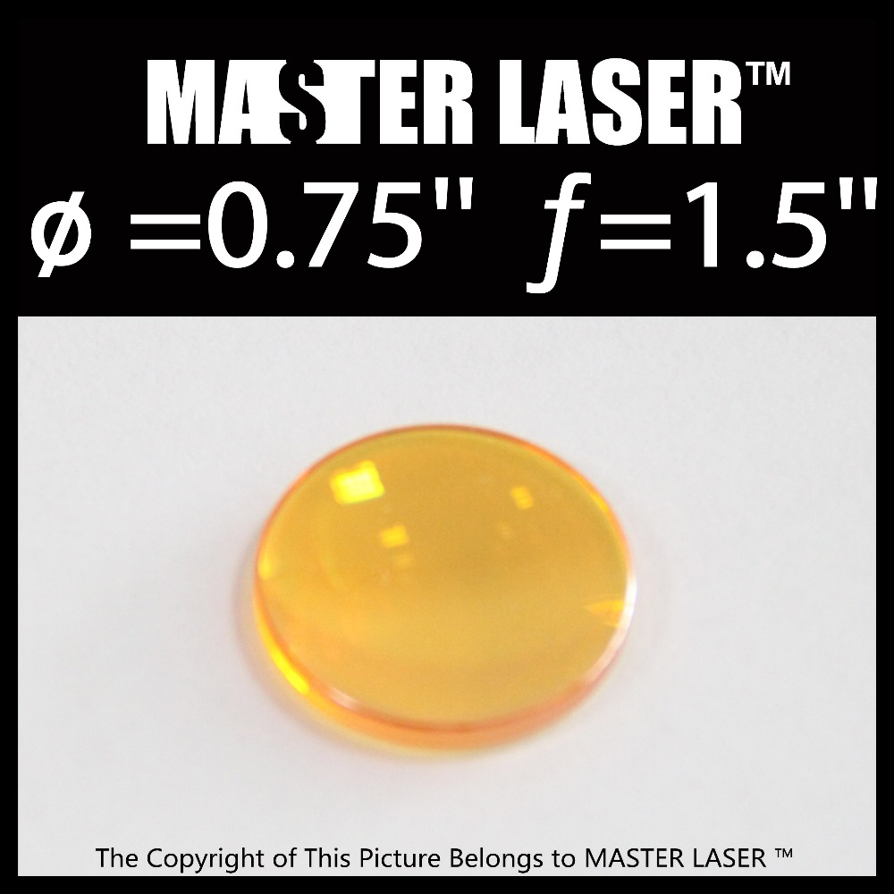Best Quality Low Price <strong>C02</strong> Laser Focus Lens Diameter0.75inch Focal Length 1.5inch Laser Machine Lens