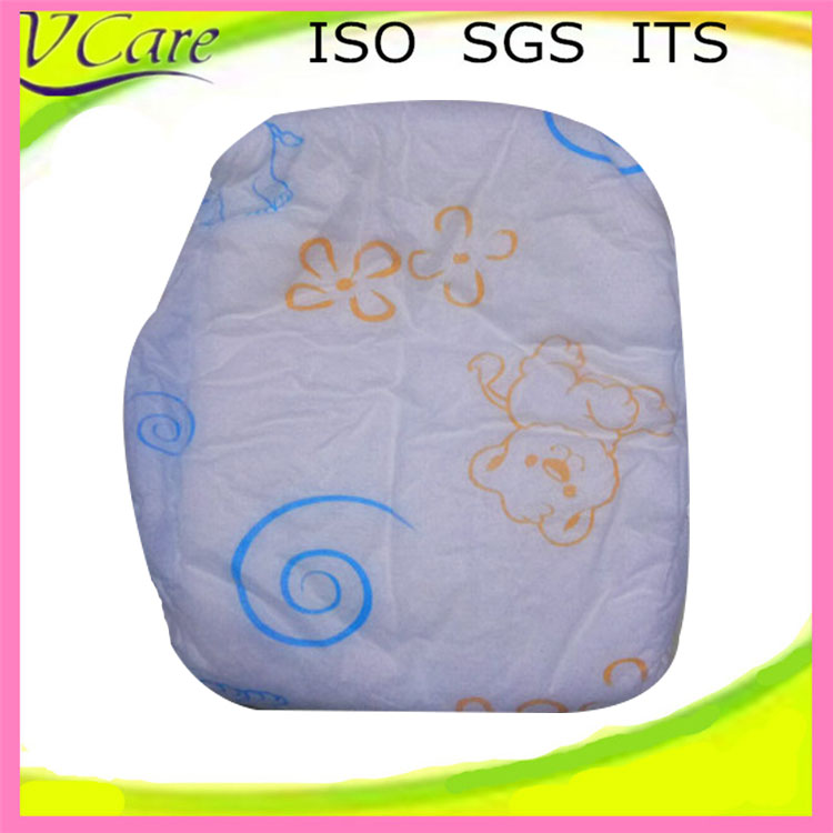manufacturer ultra soft surface 3d leak guard baby diaper