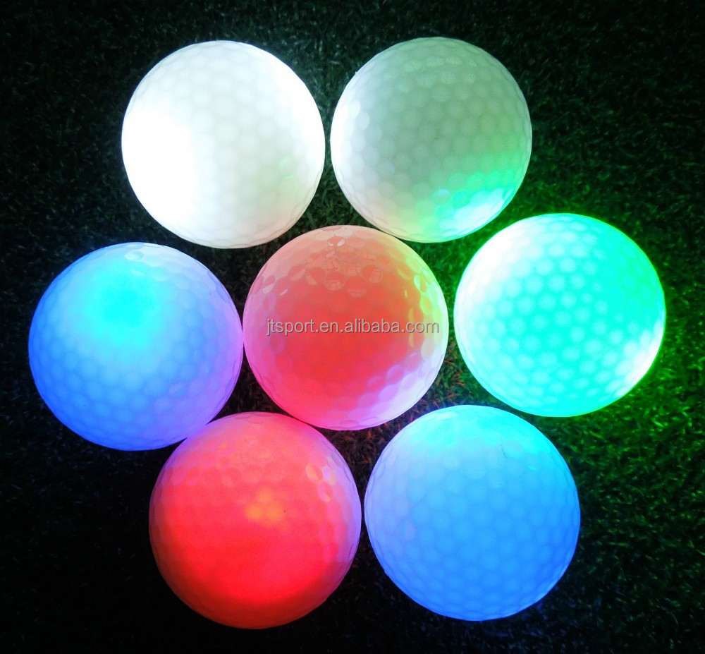 Fantasy LED glow in the dark golf balls