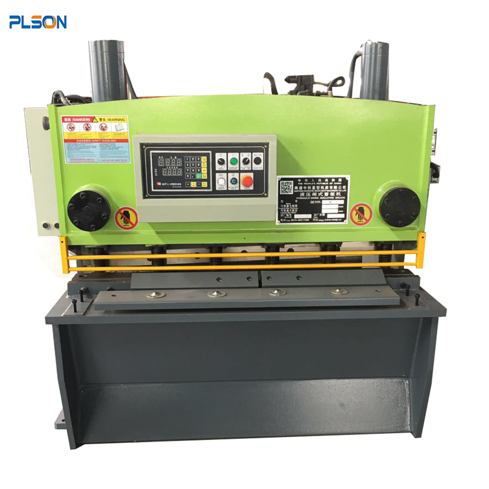 Small Hydraulic Guillotine Sheet Metal Cutting Shearing Machine