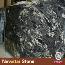Newstar black cosmic granite price of granite tiles