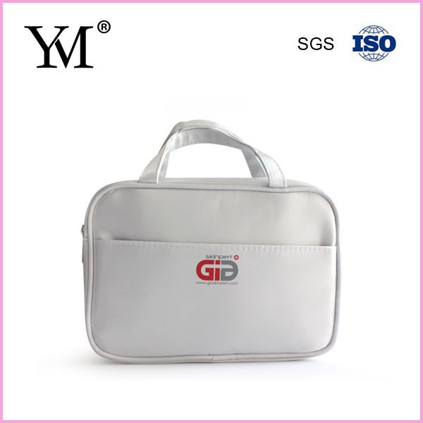 large cosmetic bag with compartments