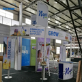 Detian Offer exhibition booth material display rack tradeshow booth