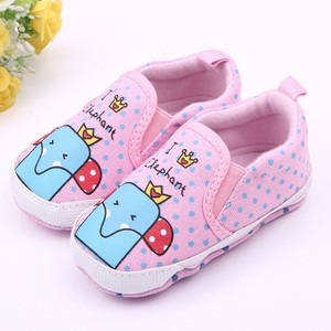 Wholesale soft sole canvas baby shoes with many design