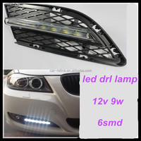 original mold error free LED daytime running lights DRL fog lamp for BMW 3 Series E90 2008~2012 replace led auto drl light