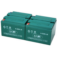 Best price 12v32ah MF sealed electric batteries 6-DZM-32 electric tricycle