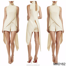 Low price wholesale New designs girls sexy jumpsuits dress night club wear for women