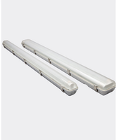 20W High Power IP65 1200mm Emergency T8 Tube Light Fixture