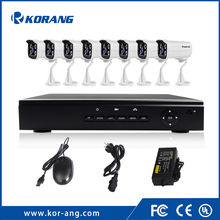 8 Channel 1080P Security Camera System 2.0 Megapixel 8CH H.264 Onvif P2P Cloud CCTV Outdoor POE NVR Kit