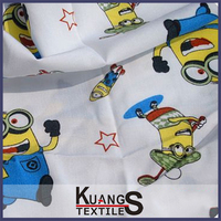 wholesale fashion minion pajama fabric