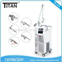 Co2 Surgery Laser Scar Removal Beauty Cutting Machine / Fractional Laser No Q-Switch Co2 Vaginal Skin Tighten Medical Equipment