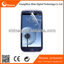 high clear blue film for mobile phone for galaxy s3 screen protector