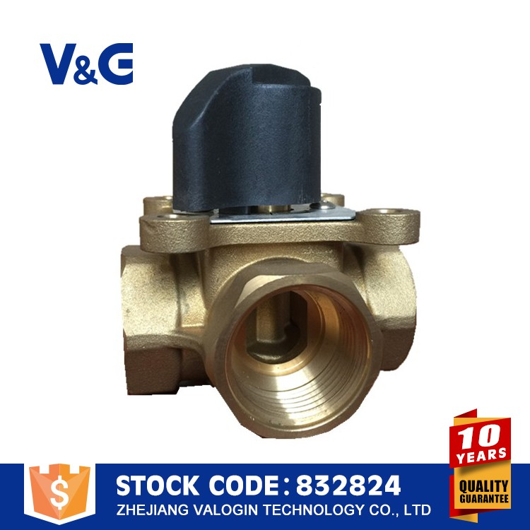 Valogin Low Price Brass 12v Brass Solenoid Ball Valve With Actuator