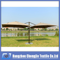 Double Sides Professional Aluminum Alloy Square Roman Umbrella Canopy Tent For Sale