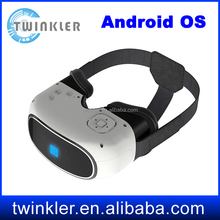 New invention All In One Virtual Reality Vr 3d Glasses Support 3D Movie/Games/Video VR All in one 3D