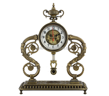Antique Brass Pendulum Table Clock with Cheap Price