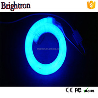 80leds neon sign font CE listed led neon tube rgb 5050 waterproof fluorescent tubes