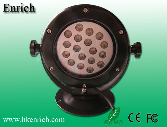 IP68 18W LED Underwater Pond Light