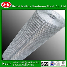hot sale high quality 3/8 inch galvanized welded wire mesh (ISO 9001 factory)