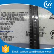 MIC2544-2YMMTR Programmable Current Limit High-Side Switch