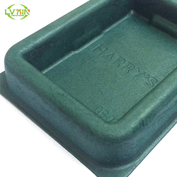 Paper pulp packaging tray,anti static tray,recyclable pulp insert