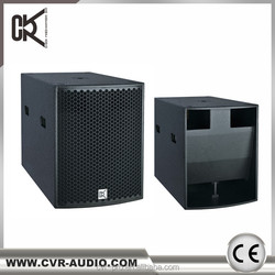 nightclub speaker active 18 inch speaker strong SPL subwoofers