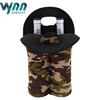 2 Bottle Insulated Neoprene Wine Carrier Tote Bag Water Bottle Holder