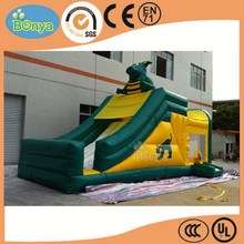 Factory nice looking dog inflatable slide