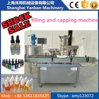 YB-Y2 Glass dropper bottle E-liquid/e juice pipette filling and capping machine