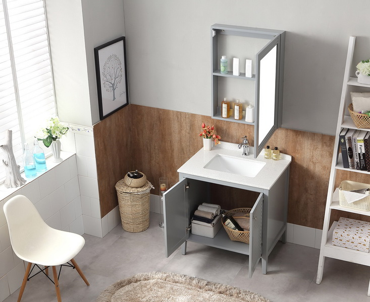 home goods used bathroom vanity unit for sale