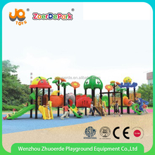 Brand New Kids Outdoor Play Center Outdoor Plastic Slide Playground For Children With Top Quality