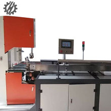 Durable full automatic PLC control soft paper facial tissue log saw cutting machine