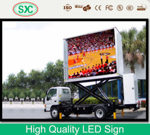 2014 new style wateproof full color led moving message sign