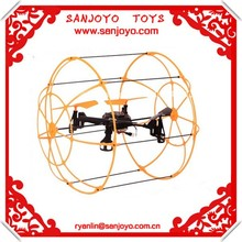 2014 Newly 312 Wall Climbing &LED 2.4g 6-axis ufo aircraft rc quadcopter Remote Control rc quadcopter intruder ufo