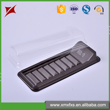 Most stylish cookie blister pp disposable food tray with cover
