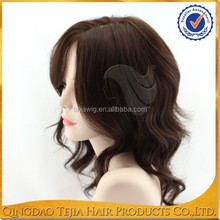 Wholesale body wave natural human hair lace wigs for white people