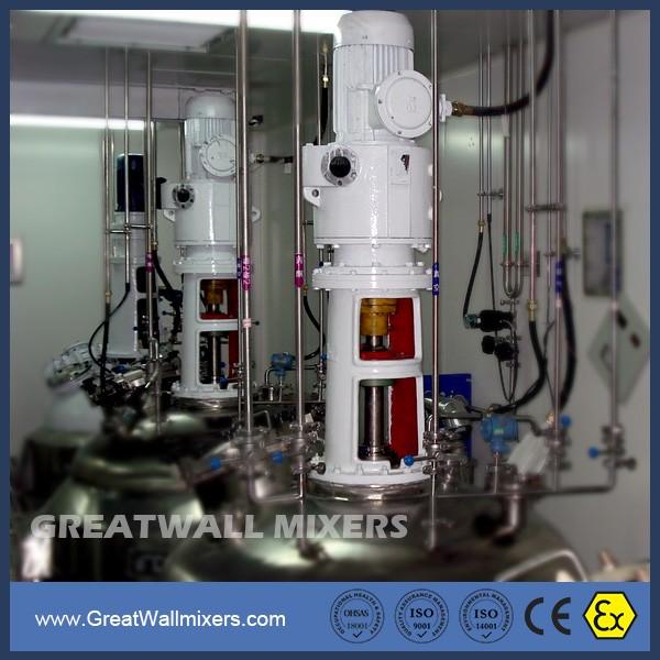 Liquid Powder Application Stainless Steel 316 304 Agitator Mixers