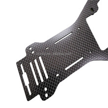 Customize CNC Cutting Carbon Fiber Sheet Drone Quad Copter Racing Frames