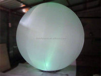 Hot sale wedding/stage/event decoration led light inflatable giant ball