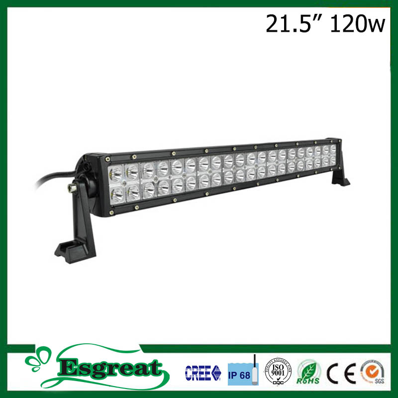 The best 21.5'' 120W IP68 UsCree led vehicle lights for toyota fortuner accessories and 4x4 accessories
