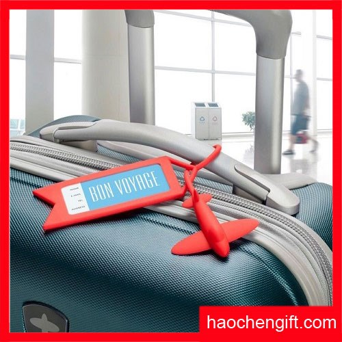 silicone luggage tag airline baggage tags