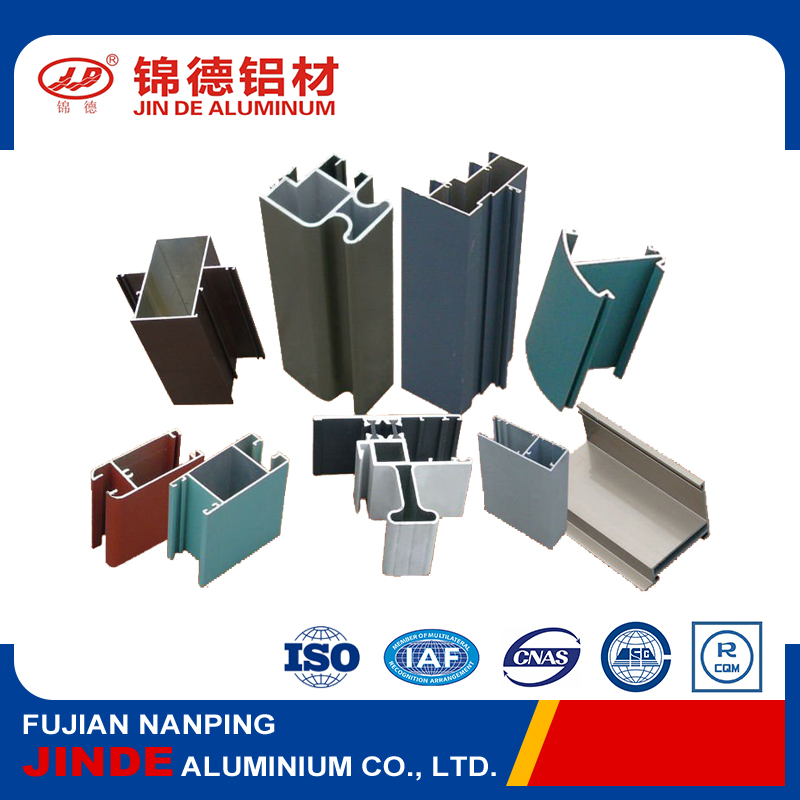Wholesale aluminum window frame extrusions with OEM