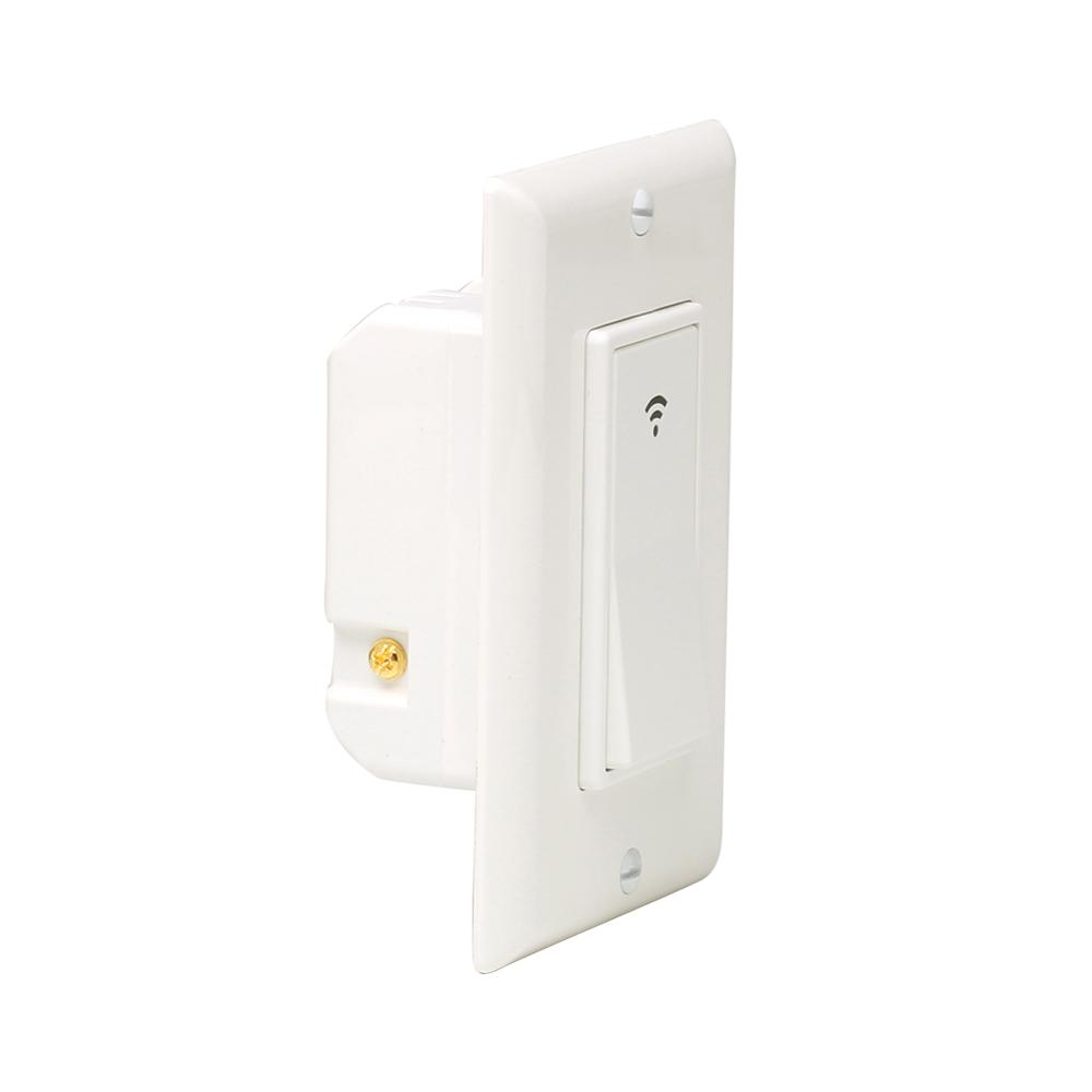 Shenzhen supplier PC+Aluminum alloy alexa compatible 2.4G smart wifi <strong>switch</strong> wall <strong>switch</strong>