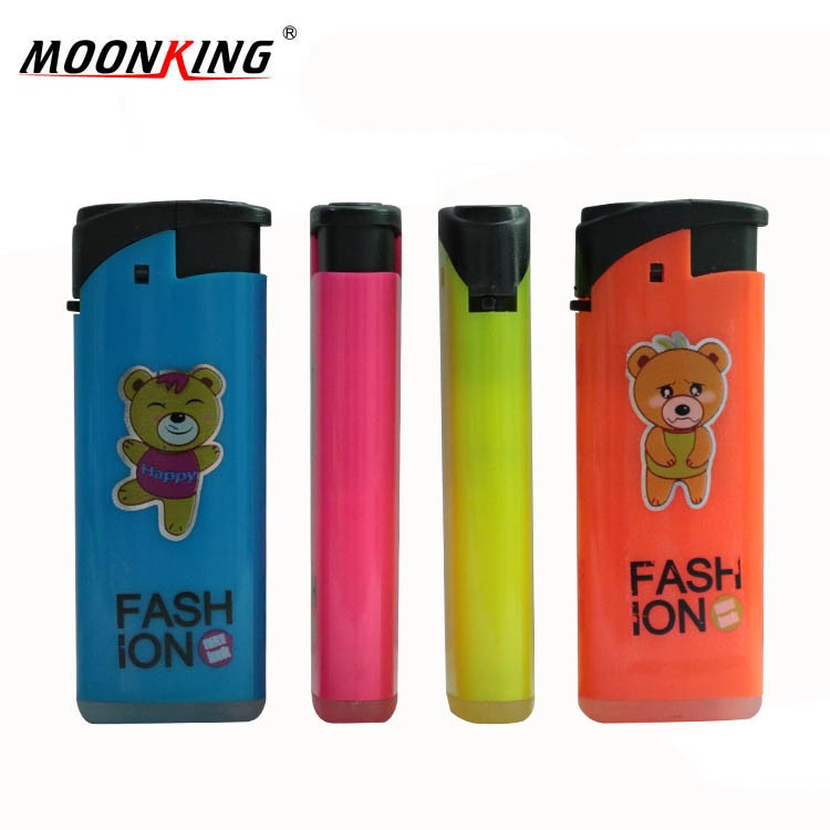 Mixed colours silk printing logo cheap price plastic gasoline recharge wind proof lighter