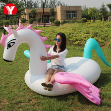 Summer inflatable color Pegasus / Pegasus pool floats / inflatable pool toys