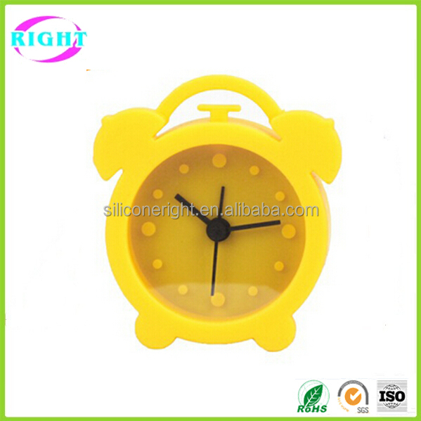 Colorful Alarm Silicone Table Clock