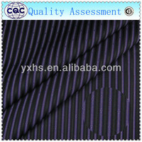 black white yarn dyed stripe fabric